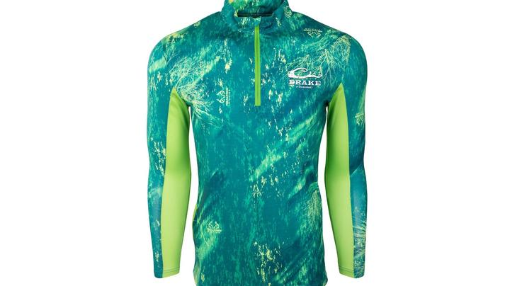 DPF Shield 4 Arched Mesh Back 1/4 Zip in Realtree Fishing Patterns Preview Image