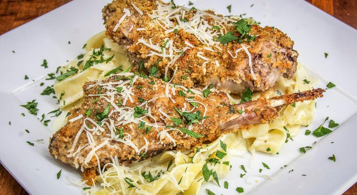 Parmesan-Crusted Rabbit Preview Image