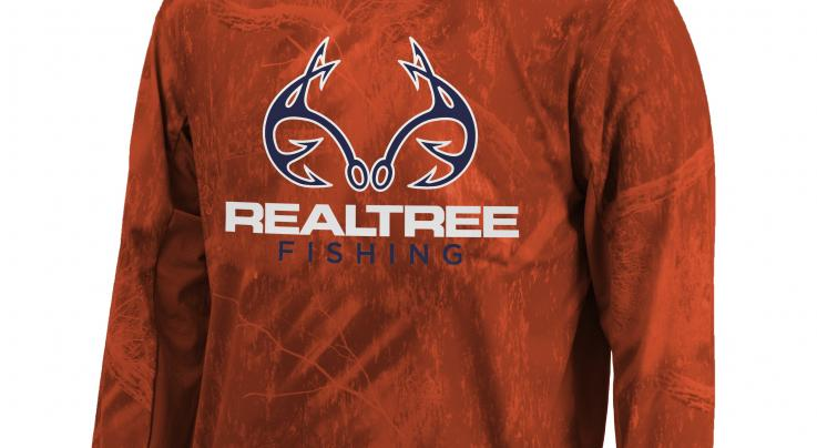 Realtree Men's Fishing Performance Long Sleeve Shirt Preview Image