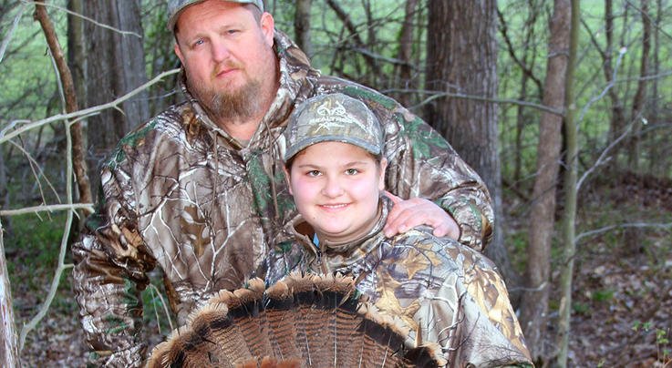 Father and Daughter Turkey Hunting Connections Preview Image