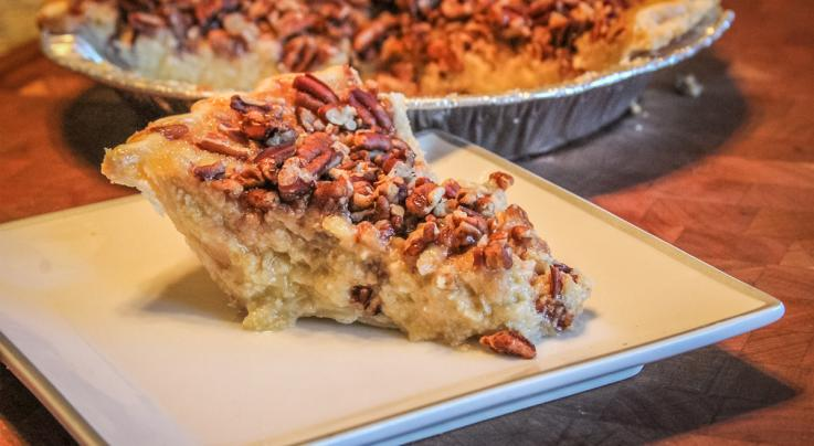 Paw Paw Custard Pecan Pie Recipe Preview Image