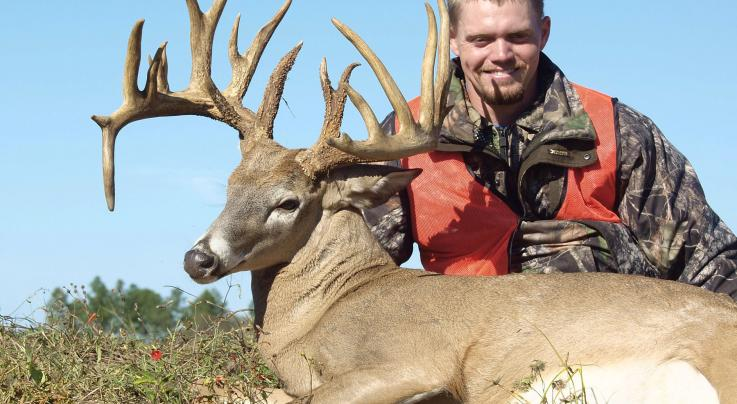 Rack Report: Fletcher Culpepper's Monster Georgia Non-Typical  Preview Image