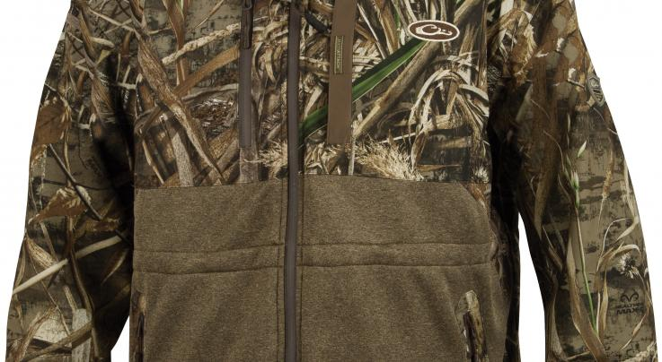 Guardian Elite™ Eqwader™ Full Zip Jacket by Drake Waterfowl Systems in Realtree MAX-5 Preview Image