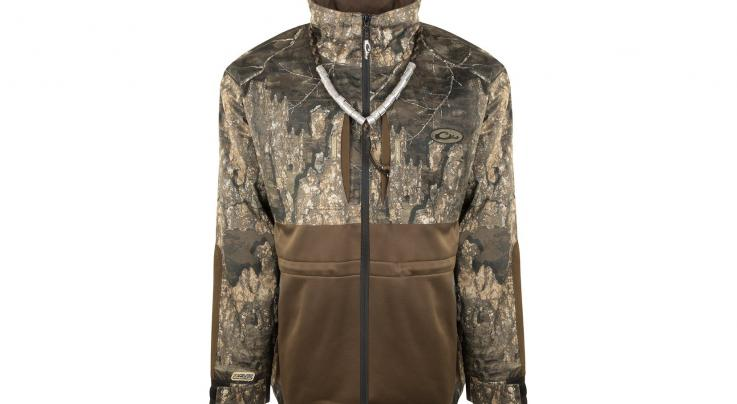 Drake Guardian Flex™ Full Zip Eqwader™ Wading Jacket in Realtree Timber and MAX-5 Camo Preview Image