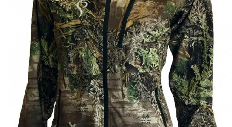 Women's Prois Gallean Rain Jacket and Pants in Realtree Camo Preview Image