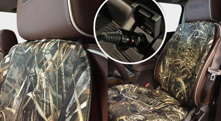 Realtree Heated Seat Cushion Preview Image