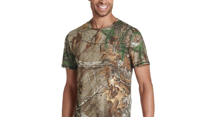 Jockey® Light Layer 365 Realtree Sport Fit Crew Tee in Realtree Xtra Preview Image