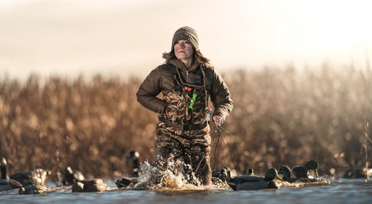 LaCrosse Estuary Women's Waders in Realtree MAX-5 Preview Image