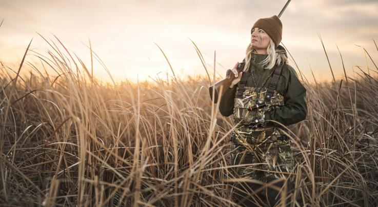 LaCrosse Hail Call Women's Waders in Realtree MAX-5 Preview Image