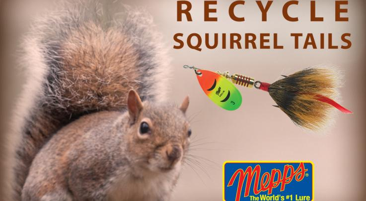 Mepps Squirrel Tail Recycling Program Preview Image