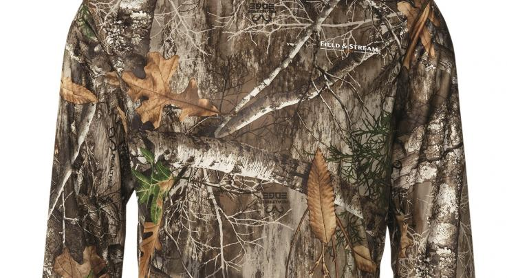 Field & Stream Men's Insect Repellant Balaclava Shirt in Realtree EDGE Preview Image