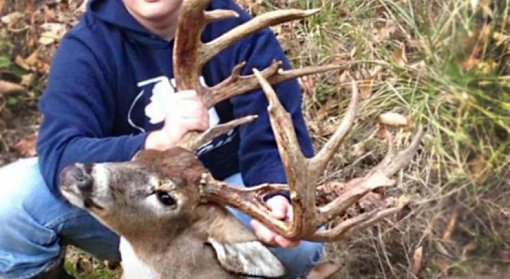 Rack Report: Giant Non-Typical One of West Virginia's All-Time Biggest Bow-Kills Preview Image