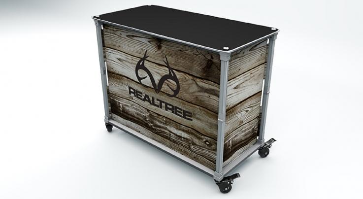 Realtree Tailgate Island -- Barnwood Preview Image
