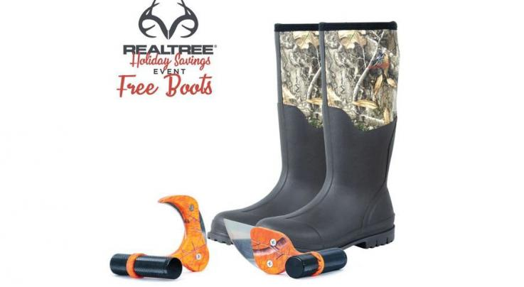 Raptor Razor Realtree Combo Gift Pack with Free Realtree Camo Boots Preview Image