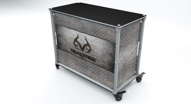 Pop-A-Bar Realtree Tailgate Island (Treadplate) Preview Image