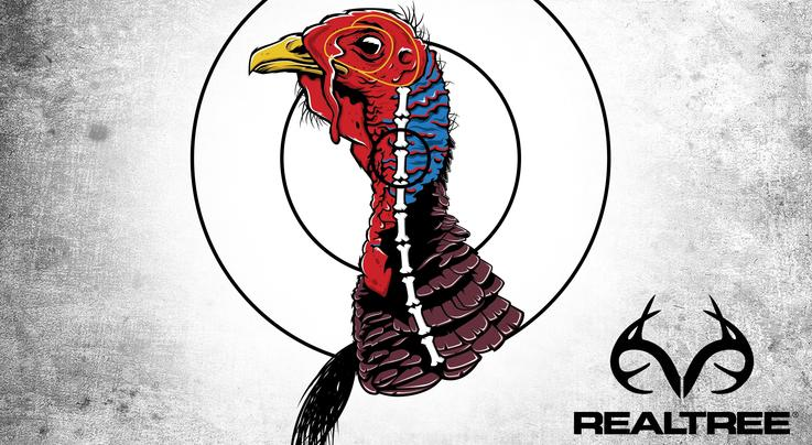 graphic about Free Printable Turkey Shoot Targets named Turkey Gun Patterning Designed Uncomplicated