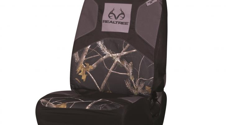 SPG Realtree Black Low Back Seat Cover Preview Image
