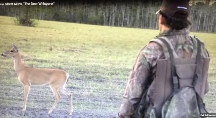Video: Rhett Akins Walks Right Up to a Deer During Spring Turkey Season Preview Image
