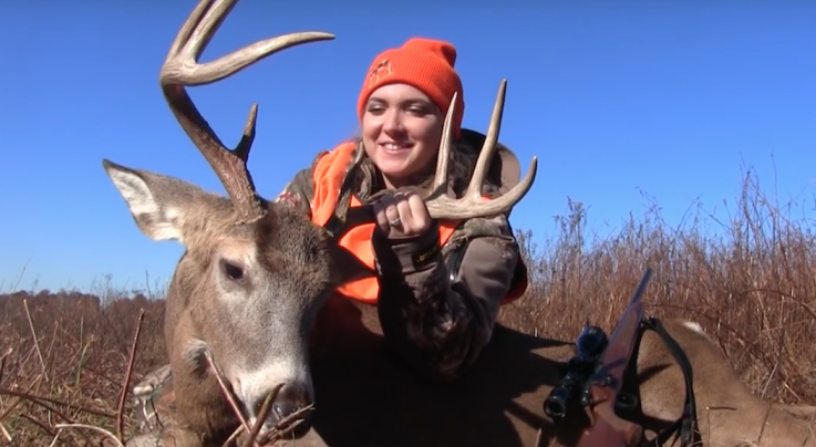 Woman Has Great Reaction to Killing Her First Deer Preview Image