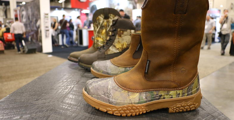 2019 SHOT Show: New Wolverine Boots in