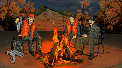 Memories of Squirrel Hunting Camp Preview Image