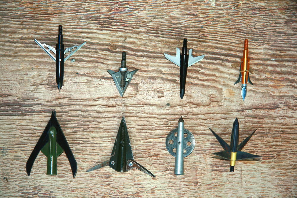 First Mechanical Broadheads