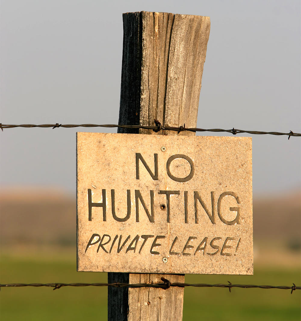 Lease to Other Hunters to Offset Costs