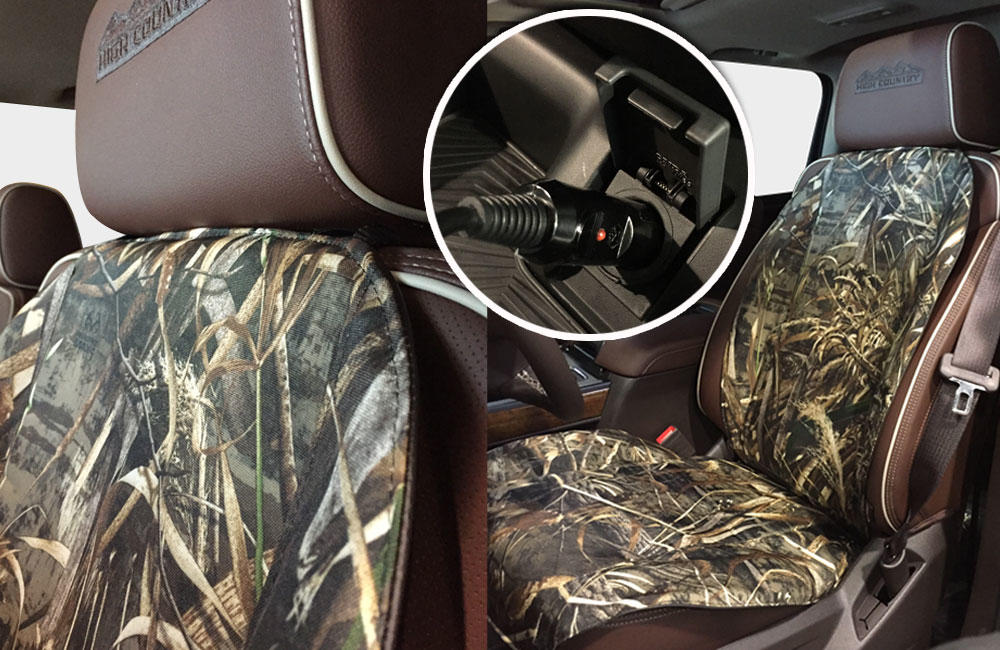 Realtree Heated Seat Cushion