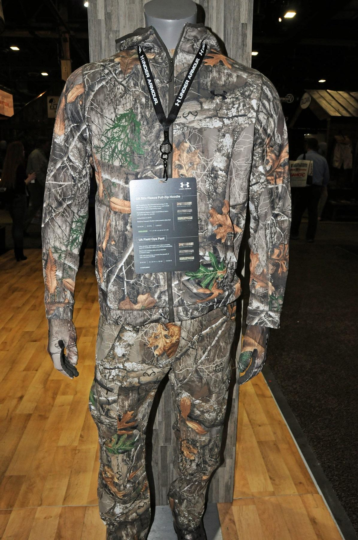 UA Six Fleece Hoodie and Field Ops Pants in Realtree EDGE