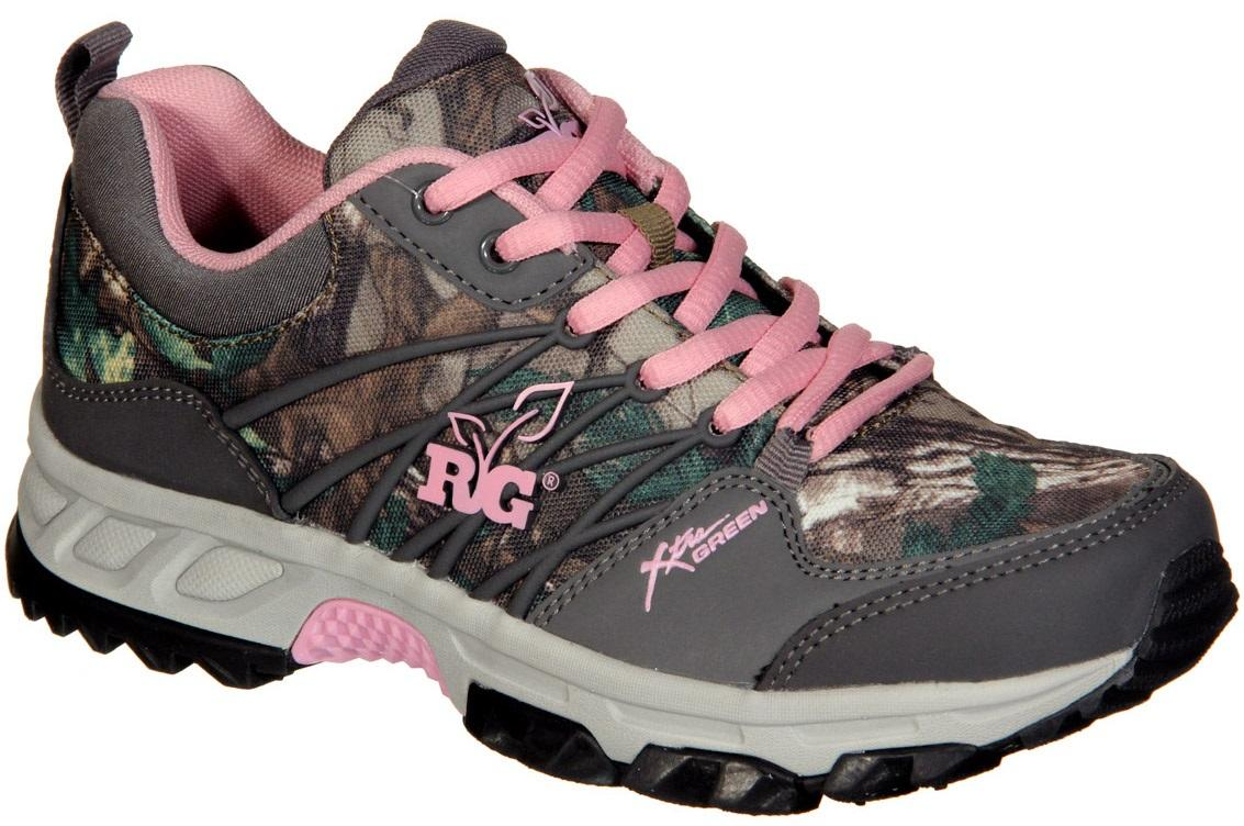 Pink Camo Womens Shoes