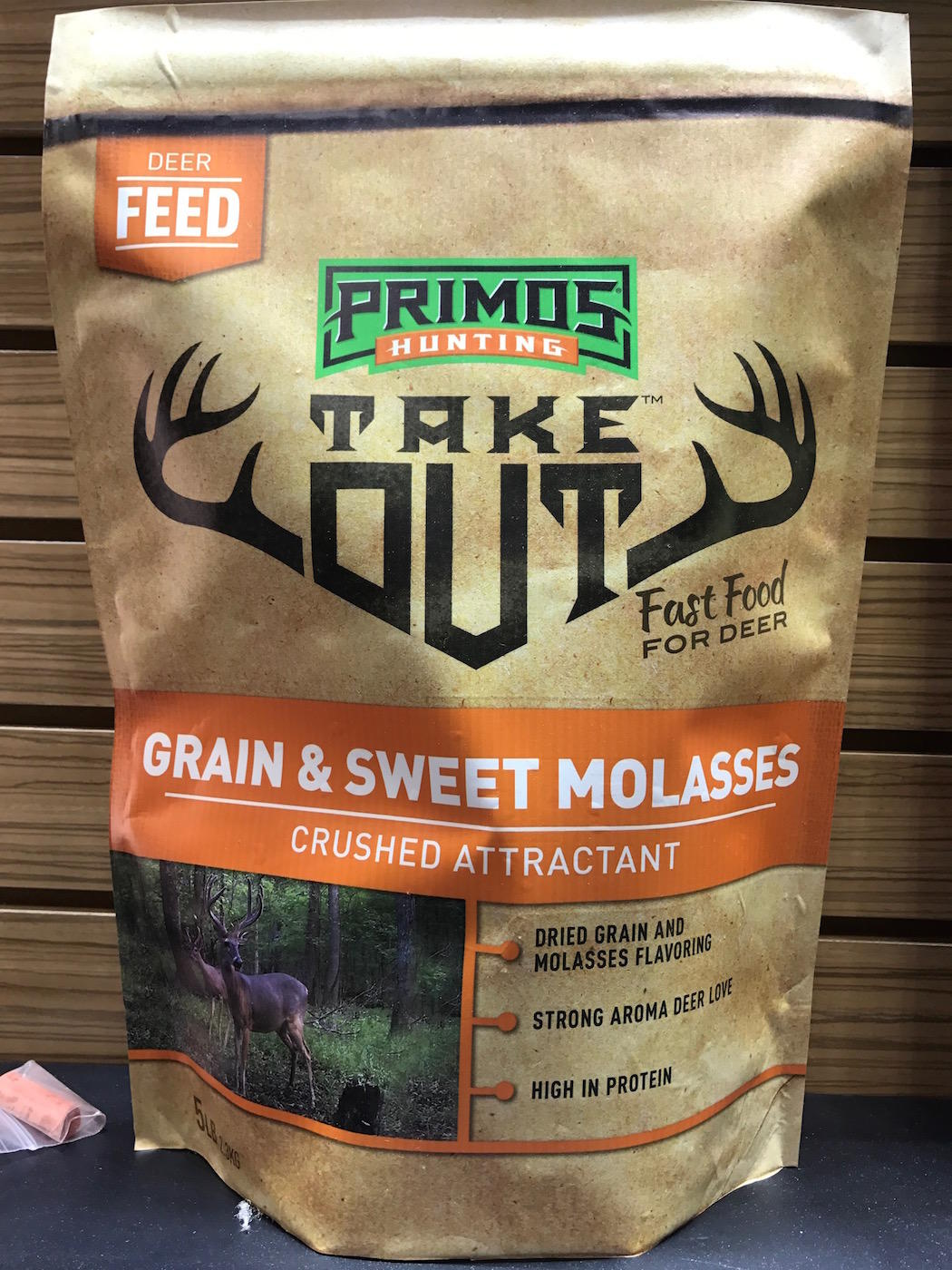 Primos Take Out Grain and Sweet Molasses