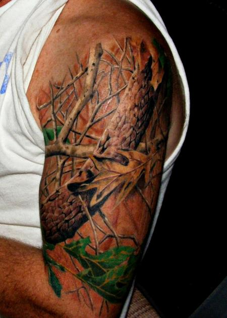 Realtree tattoo contest top 10 deer hunting realtree for Camo sleeve tattoos