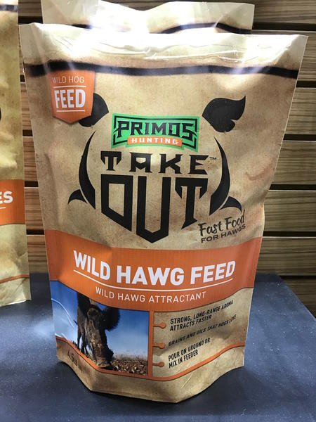 Primos Take Out Wild Hawg Feed