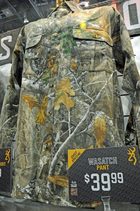 Browning Wasatch-CB Shirt in Realtree EDGE