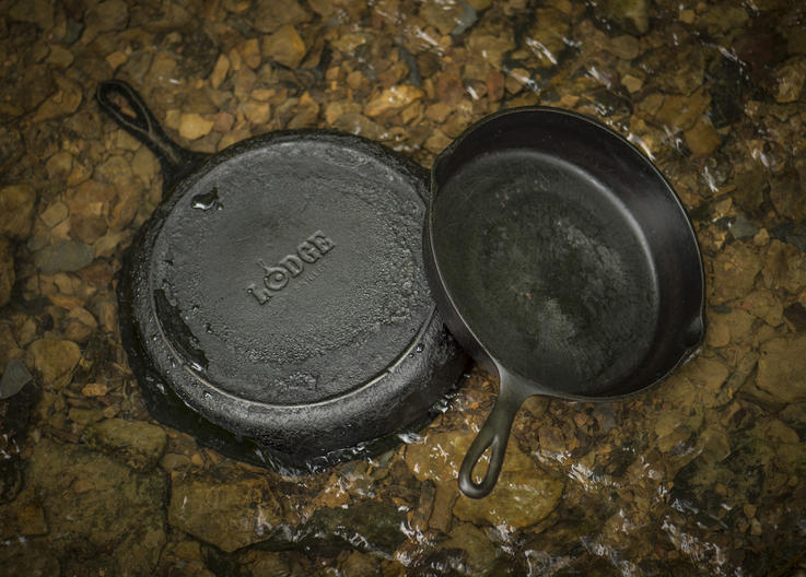 Every kitchen should have at least two skillets, but more never hurts. Photo: B. Konway