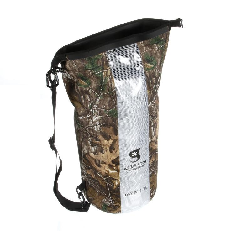 Realtree Dry Bags by geckobrands®