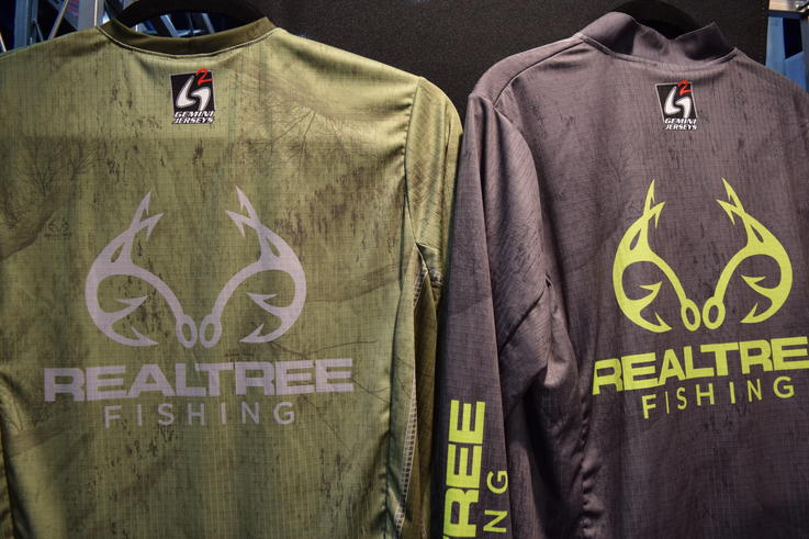 Realtree Fishing Pattern