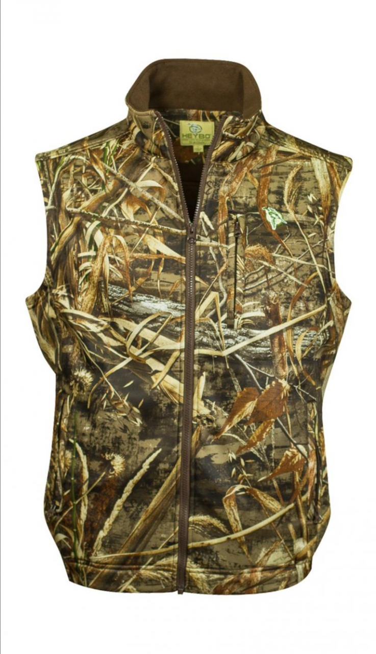 heybo outdoors delta vest in realtree max 5