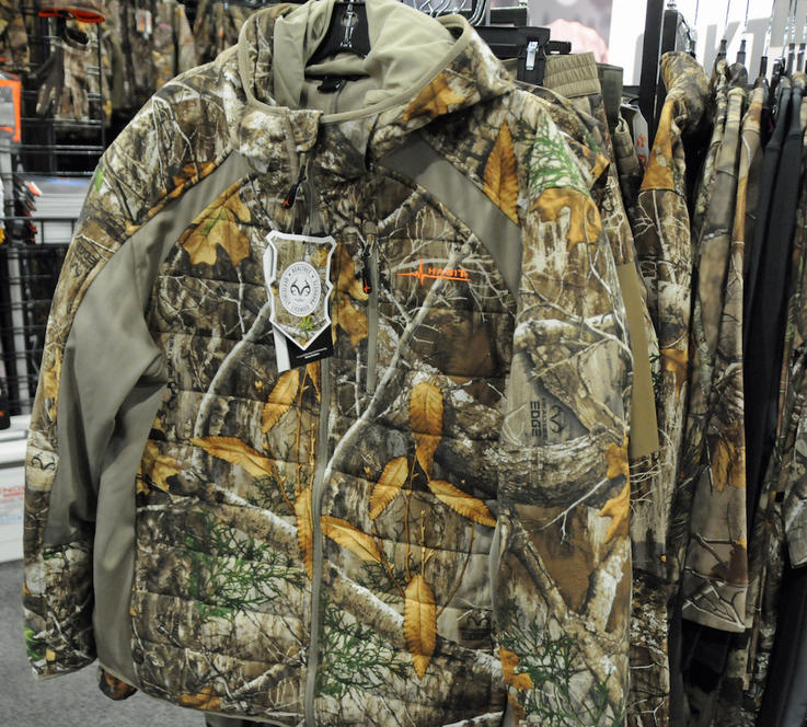 Habit Himont Trail Hybrid Insulated Jacket in Realtree EDGE Camo