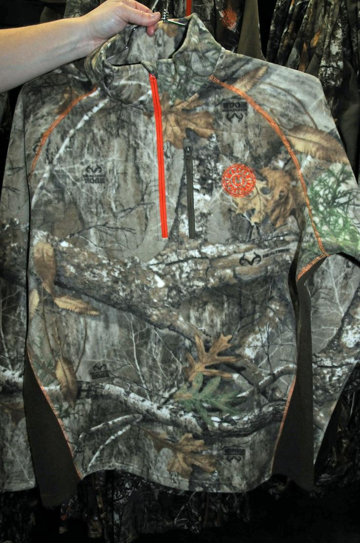 Master Sportsman Buckskin 1/4 Zip Base Layer in Realtree EDGE