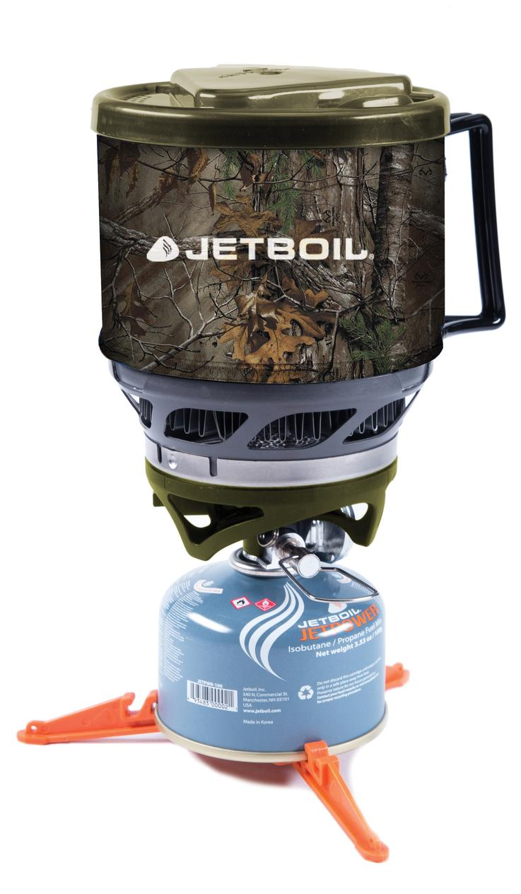 Jetboil MiniMo Cooking System in Realtree Camo