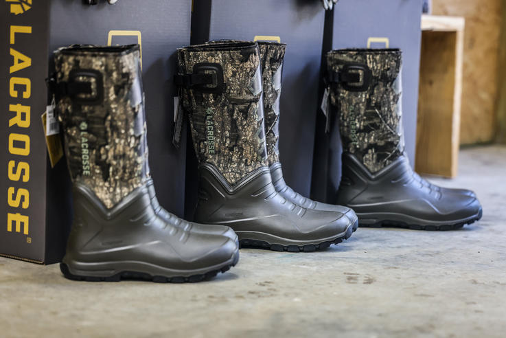 The LaCrosse AeroHead Sport has a polyurethane lower shell with a tough neoprene upper. Image by Realtree / Matt Harrison