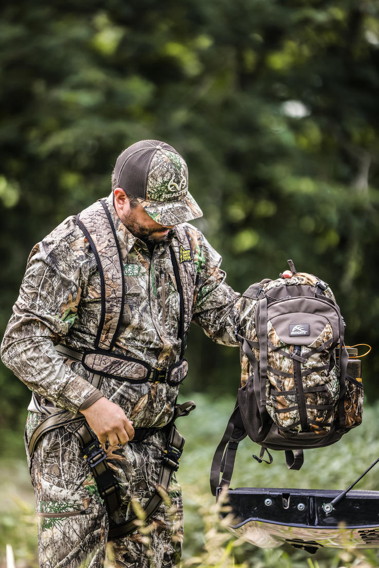 The Element daypack has 1,900 cubic inches of space. Image by Realtree / Matt Harrison
