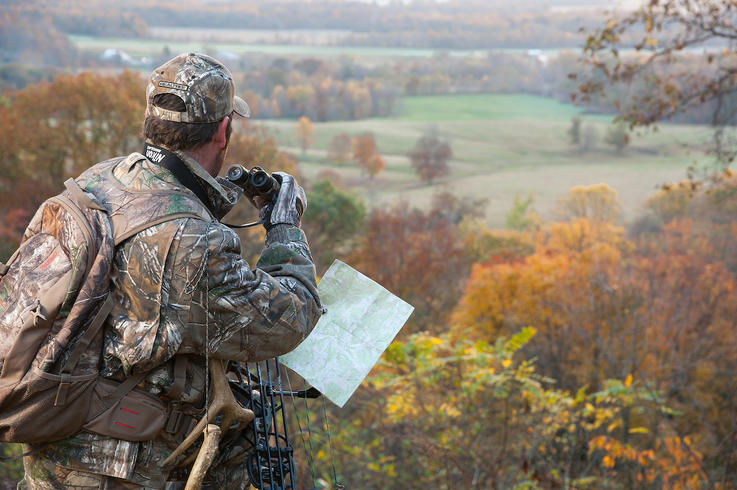 Start by Hunting from Observation Stands