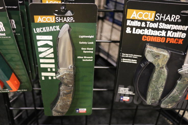 AccuSharp LockBack Knife