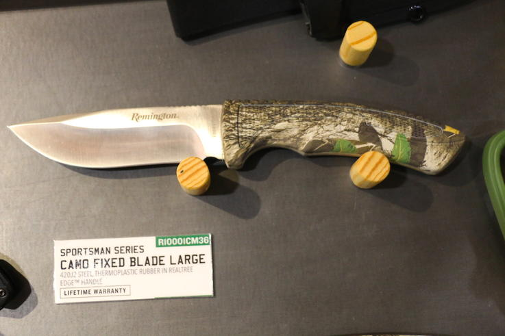Remington Sportsman Series Large Fixed-Blade Camo Knife