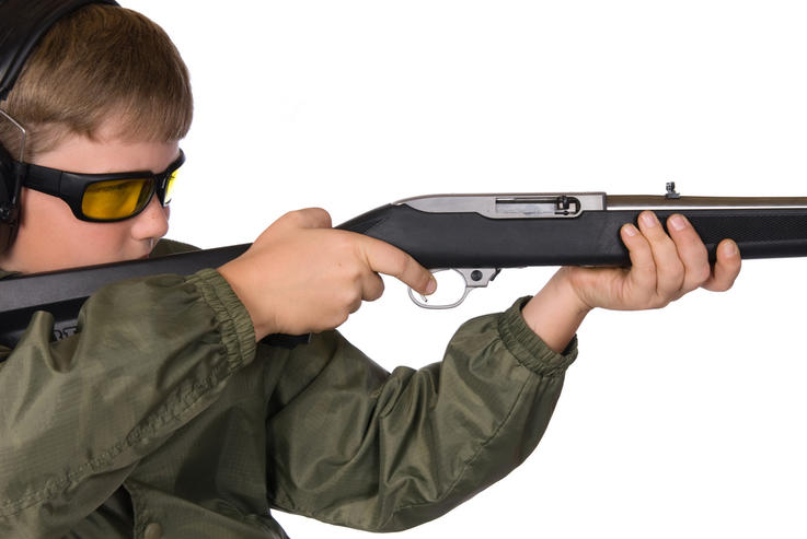 Wear Safety Glasses and Ear Plugs When Sighting Firearms