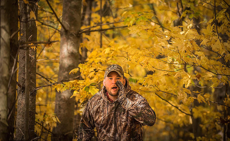 If You See Another Hunter, Make Yourself Known with Sound — Not Motion