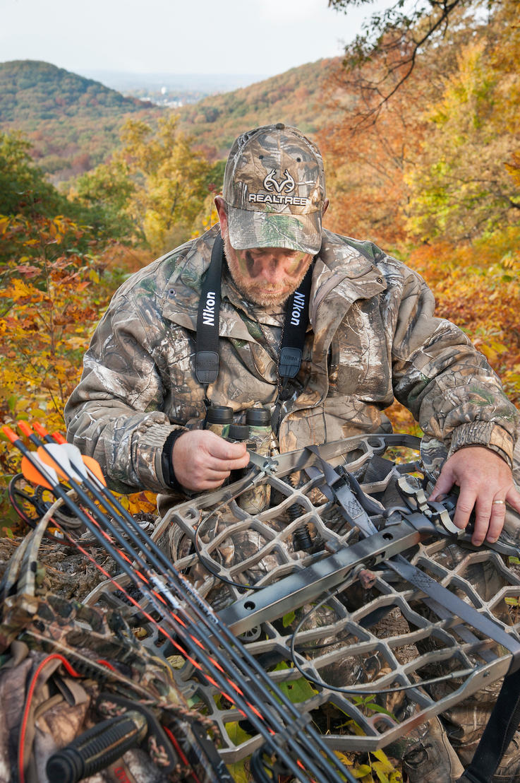 Inspect Treestands and Blinds for Damage Annually
