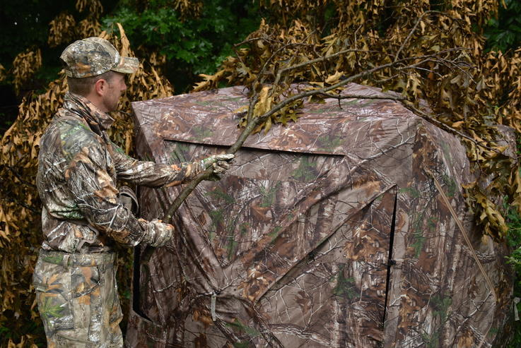 Brush Up for Concealment
